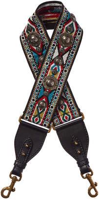Christian Dior Canvas & Leather Shoulder Strap