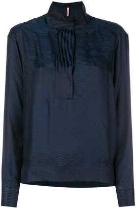 Indress jaquard blouse