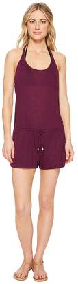 Becca by Rebecca Virtue Breezy Basics Romper Cover-Up Women's Jumpsuit & Rompers One Piece