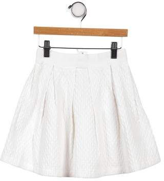 Lanvin Petite Girls' Pleated A-Line Skirt