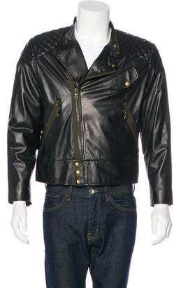 Paul Smith Quilted Leather Jacket
