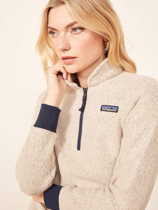 Reformation Patagonia Woolyester Fleece Pullover