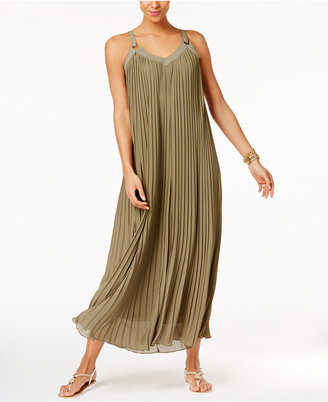 MICHAEL Michael Kors Pleated Maxi Dress $175 thestylecure.com