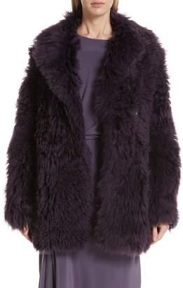Pippa Sies Marjan Tigrado Genuine Shearling Coat