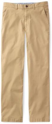 L.L. Bean L.L.Bean Men's Lakewashed Stretch Khakis, Natural Fit