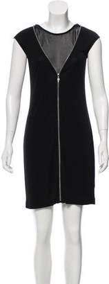 Alexander Wang Zip-Accented Mini Dress