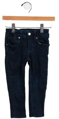 Burberry Girls' Denim Mid-Rise Bottoms