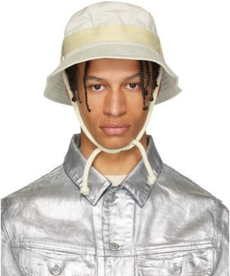 Acne Studios Bla Konst Off-White Sun Bucket Hat