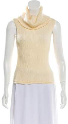 Agnona Sleeveless Cashmere Top