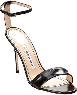 Manolo Blahnik Spezia 105 Leather Sandal