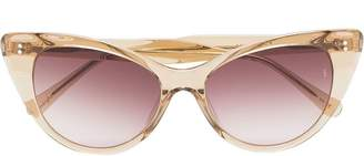 Cat Eye Sunday Somewhere champagne Piper cat-eye sunglasses