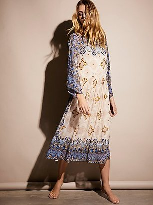 One Day Midi Dress by Free People $500 thestylecure.com