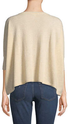 Minnie Rose Cashmere Cropped Crewneck Sweater