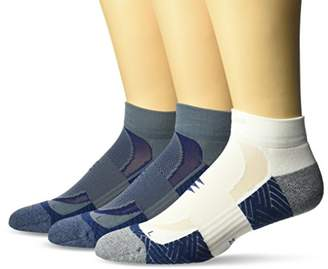 PowerSox Men's Apexpro Low Cut Socks with Moisture and Odor Control