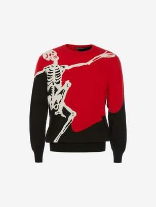 Alexander McQueen Dancing Skeleton Sweater