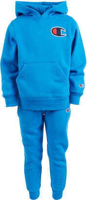 Champion Little Boys 2-Pc. Heritage Fleece Track Suit