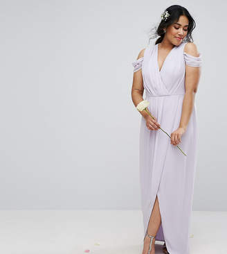 TFNC Plus Wedding Wrap Maxi