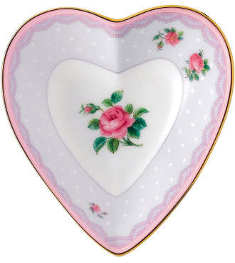 Royal Albert Candy Collection Heart Tray Love Lilac