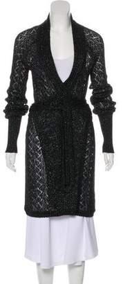 Diane von Furstenberg Besos Oversize Cardigan