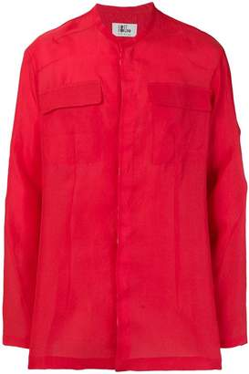 Lost & Found Ria Dunn double-pocket shirt