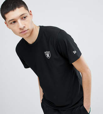 New Era Dryera Series New Raiders T-Shirt In Black Exclusive To ASOS
