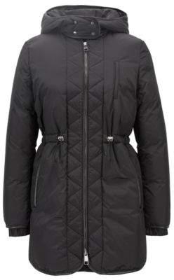 BOSS Hugo Regular-fit jacket in water-repellent technical fabric 2 Black