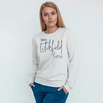 Baby Yorke Designs Newlywed Mrs Signature Jumper