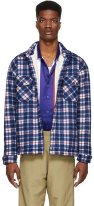 Noon Goons Blue Plaid Compa Shirt
