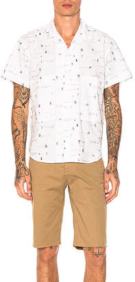 Death to Tennis Budd Shirt in White $312 thestylecure.com