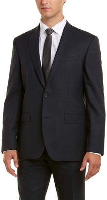 Ted Baker 2Pc Wool Nailshead Suit With Pleated Pant
