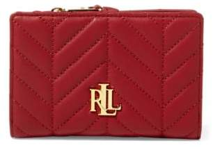 Ralph Lauren Carrington Compact Wallet Vermillion One Size