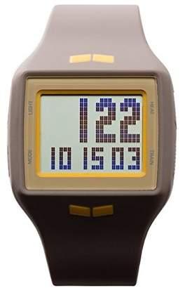 Vestal Unisex HLMDP24 Helm Digital Display Quartz Grey Watch