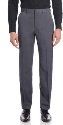 Kenneth Cole Medium Grey Neat Slim Suit Pants
