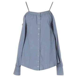 Nicholas K Blue Cotton Top for Women