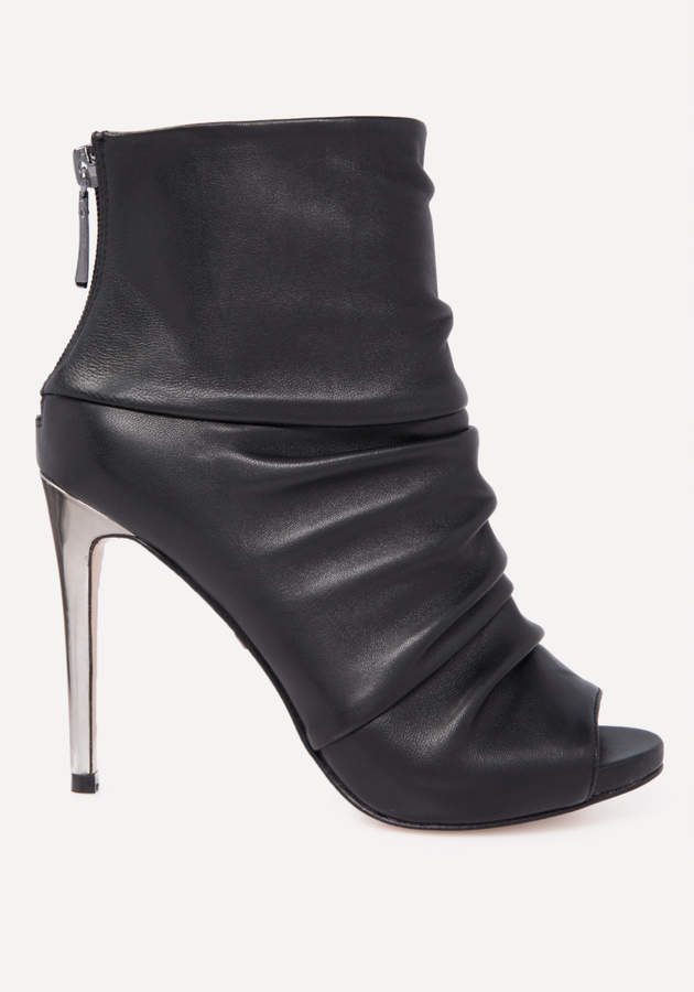Angelynne Leather Booties