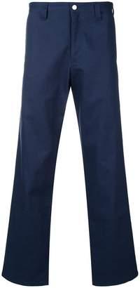 Used Future wide-leg trousers