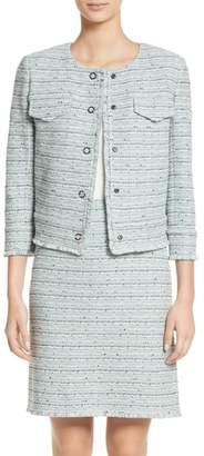 St. John Riana Tweed Jacket