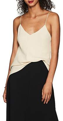 The Row Women's Eda Stretch-Cady Top - Butter