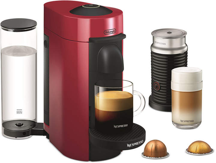 Nespresso De'Longhi Nespresso Vertuo Plus Coffee and Espresso Machine & Frother
