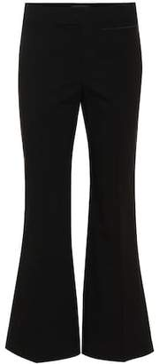 Isabel Marant Nyree stretch-cotton flared pants