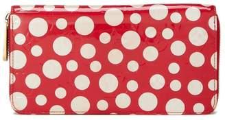 Louis Vuitton Yayoi Kusama x Monogram Vernis Dots Infinity Zippy Continental Wallet