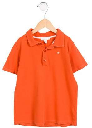 Marie Chantal Boys' Short Sleeve Polo Shirt
