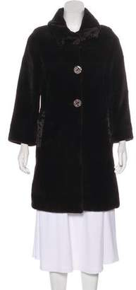 Giuliana Teso Sheared Mink & Broadtail Coat