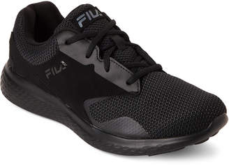 Fila Black Layers 2.5 Knit Running Sneakers