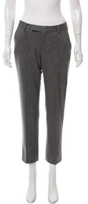 Nellie Partow Mid-Rise Wool Pants