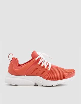 Nike Women's Presto SE Shoe in Rush Coral/White