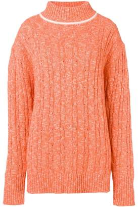 Cashmere In Love cable knit sweater