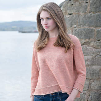 Holmes Samantha Alpaca And Linen Crop Jumper