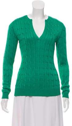 Ralph Lauren Silk Knit Sweater