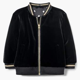 Gymboree Velvet Bomber Jacket